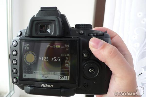 Nikon d5000 зеркальный цифровой фотоаппарат