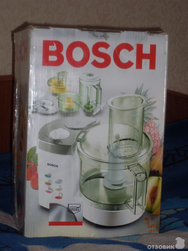 кухонный комбайн Bosch инструкция по эксплуатации