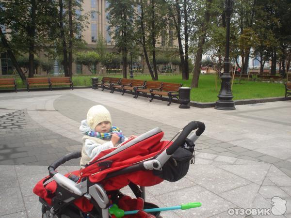 Отзыв: Детская коляска Peg Perego GT3 - Первый внедорожник малыша.