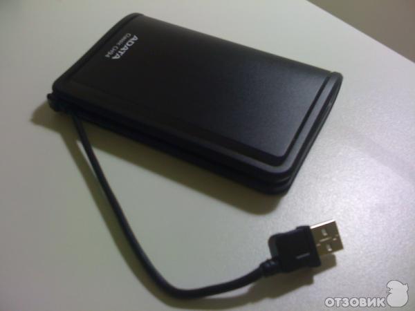 Отзыв о Внешний жесткий диск A-Data Classic CH94 | Удобный, но ...
